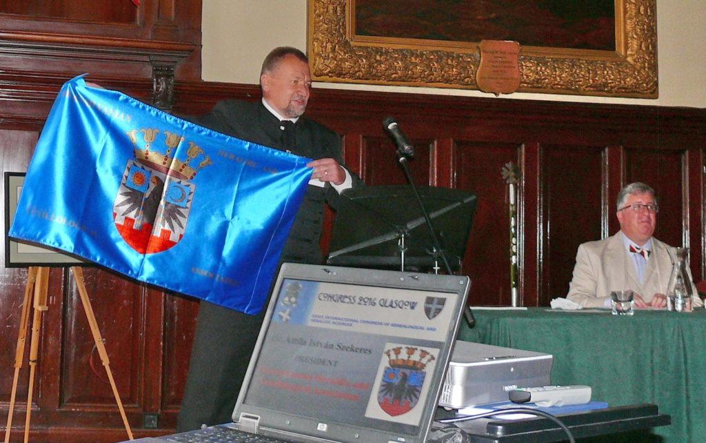Szekeres Attila István előadása Glasgowban